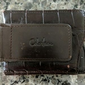 REDUCED! Cole Haan Leather Money clip